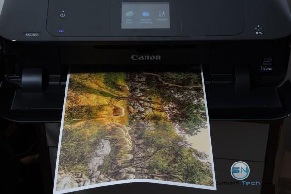 Fotodruck Fotopapier - Canon Pixma MG7550 - SmartTechNews
