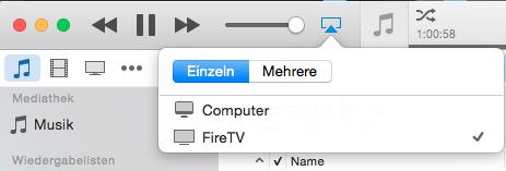 iTunes per FireTV