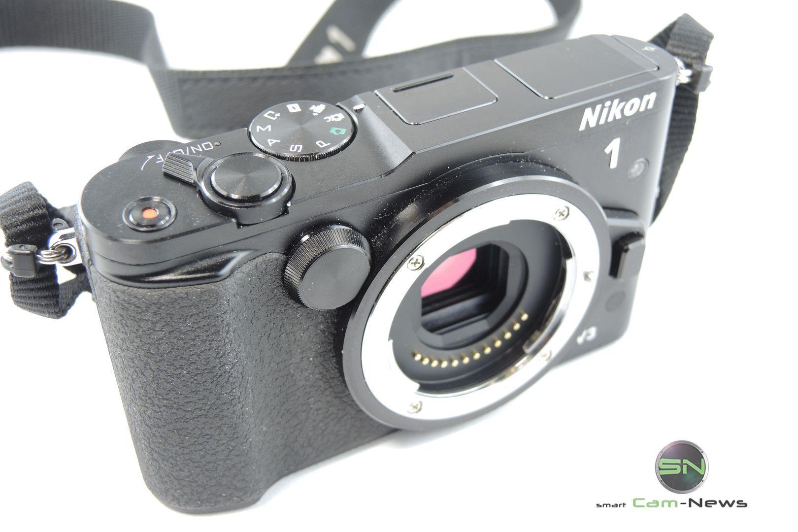 Frontansicht - Nikon 1 V3 - SmartCamNews