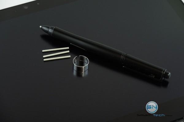 Toshiba Portégé mit Stift im Lieferumfang