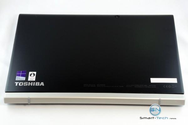 Die Rückseite des Toshiba Portégé