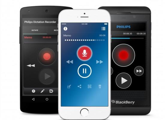 Der SpeechLive Service ist auf Android, IOS, im Web sowie auf Diktiergeräten Nutzbar