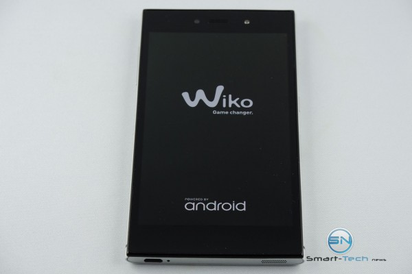 Bootscreen des Wiko Highway Star 4G