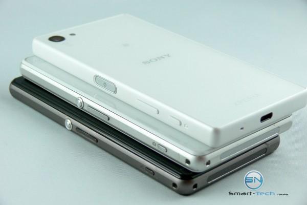 3 seitliche Ansichten - Sony Xperia Z5 Compact - SmartTechNews