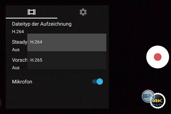 4K Movie Aufnahme Formate - Sony Xperia Z5 Compact - SmartTechNews