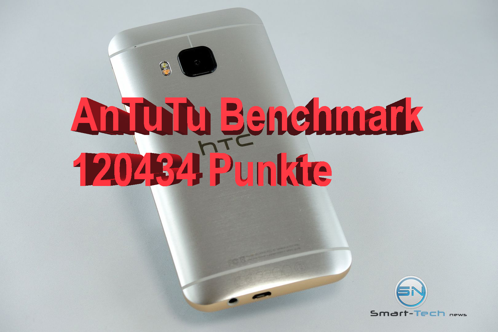 Update: Benchmark Bestwert – Android 6.0 – HTC One M9 im Dauertest