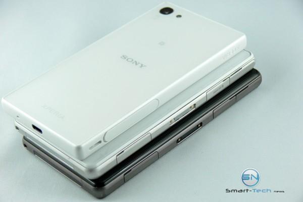 Anschlüsse der 3 Compacten - Sony Xperia Z5 - SmartTechNews