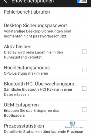 Entwickler Option 1- HTC One M9 - SmartTechNews
