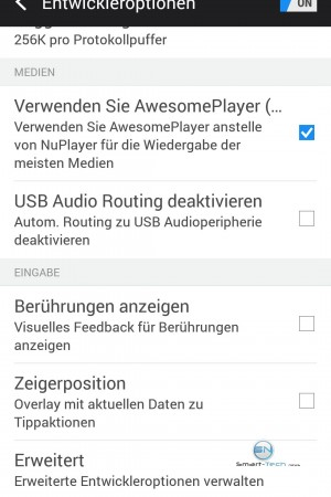 Entwickler Option 4- HTC One M9 - SmartTechNews