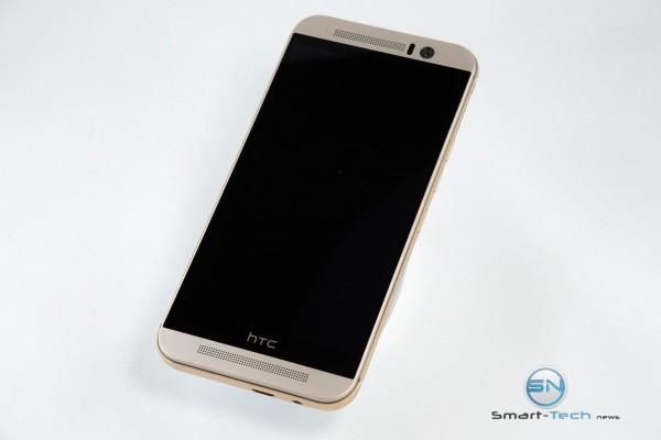Frontansicht - HTC One M9 - SmartTechNews