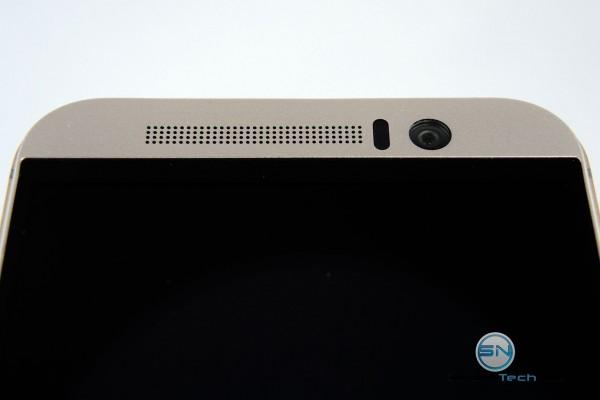 Lautsprecher und Kamera - - HTC One M9 - SmartTechNews