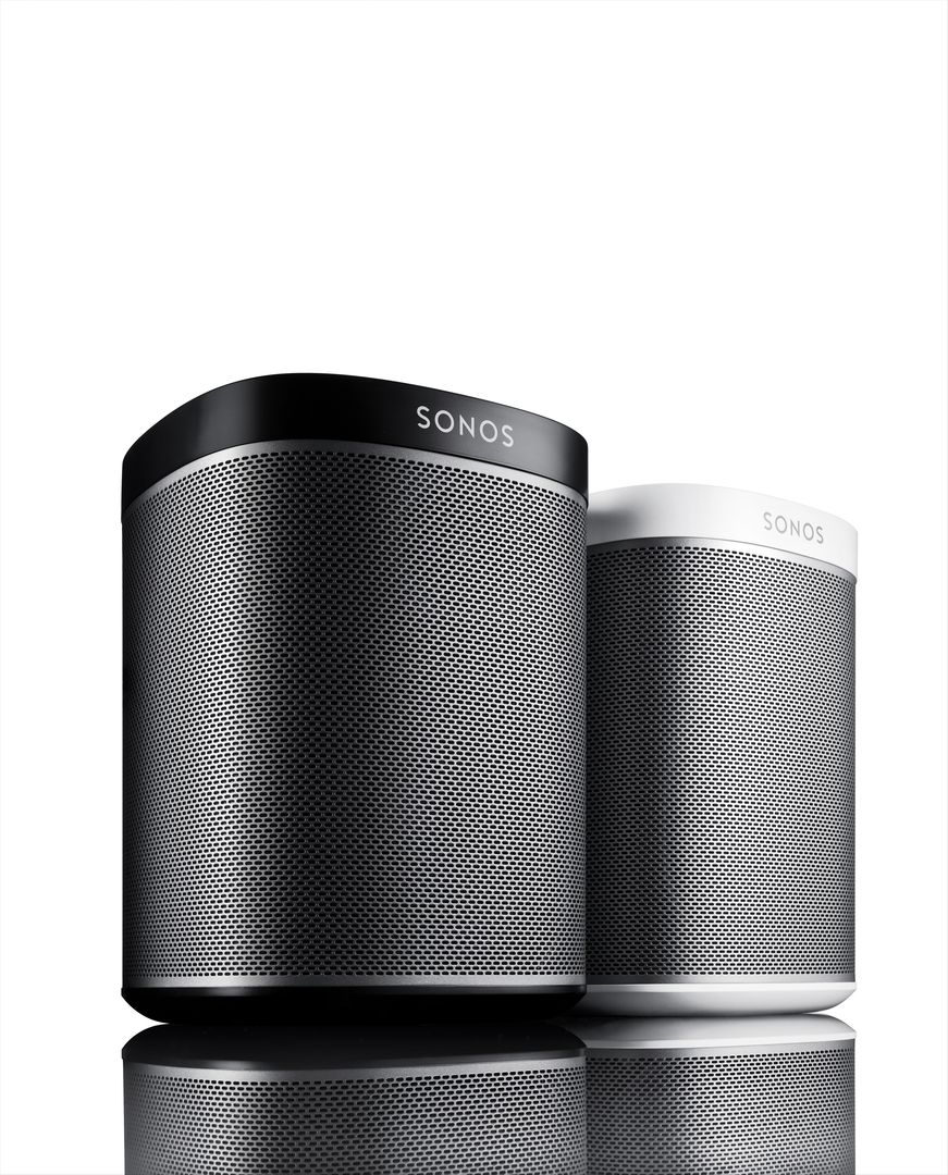 multiroom speaker sonos play 1 im test smart tech news. Black Bedroom Furniture Sets. Home Design Ideas