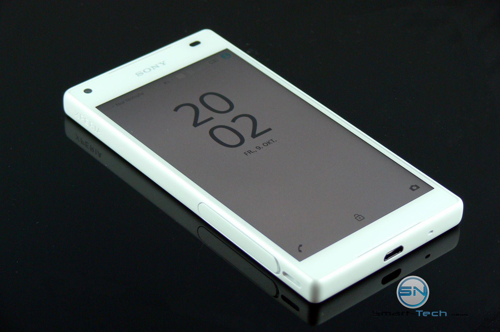 Sony Xperia Z5 Compact der kleine Bond für die Hosentasche