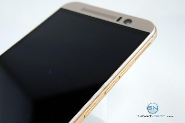 rechte Seite mit Power Lautstärke MircoSD - - HTC One M9 - SmartTechNews