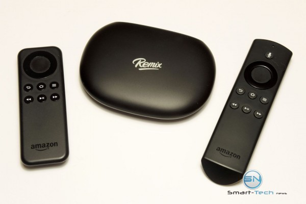 Amazon FireTV Fernbedienung am Remix Mini first Android PC - SmartTechNews