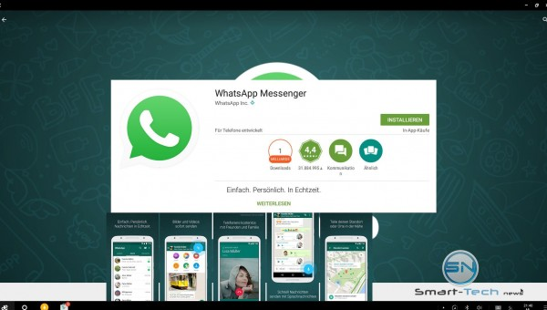 Whatsapp - Remix Mini first Android PC - SmartTechNews