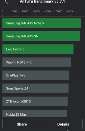 Benchmark AnTuTu Teil 1 - Huawei P8 - SmartTechNews