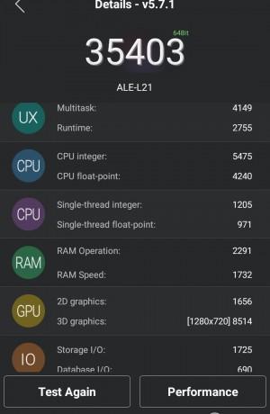 Benchmark AnTuTu Teil 3 - Huawei P8 Lite - SmartTechNews