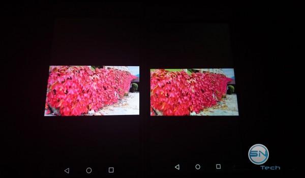 Helligkeits - Display Vergleich 1 Huawei P8 vs P8 Lite - SmartTechNews