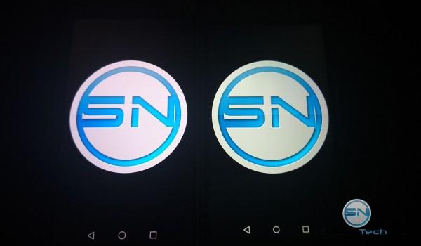 Helligkeits - Display Vergleich 3 Huawei P8 vs P8 Lite - SmartTechNews