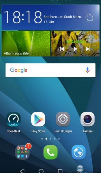 Homescreen - Huawei P8 Lite - SmartTechNews