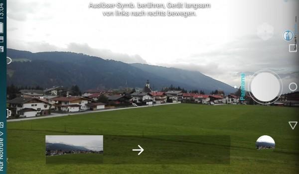 Panorama Funktion Ansicht - Huaei P8 - SmartTechNews