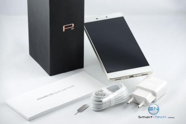 Unboxing - Huawei P8 - SmartTechNews