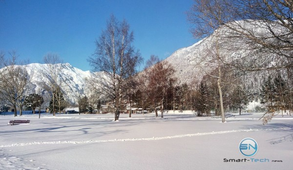 Achensee im Winter - HTC One M9 plus - SmartTechNews