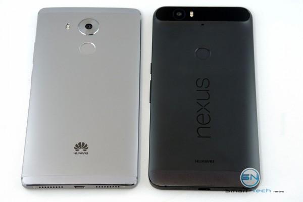 Backside HUA Mate 8 vs Nexus 6P - SmartTechNews