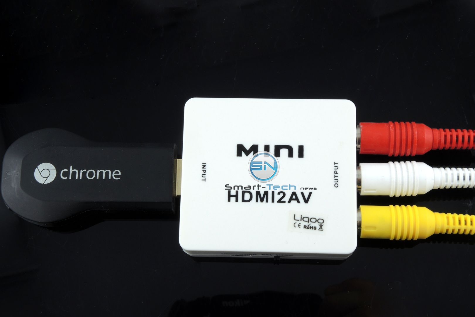 Streaming ohne HDMI – Composite Kabel Konverter