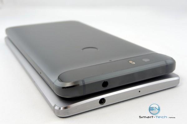 Größe HUA Mate 8 vs Nexus 6P - SmartTechNews