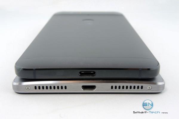 Ladeanschluss und Sound HUA Mate 8 vs Nexus 6P - SmartTechNews
