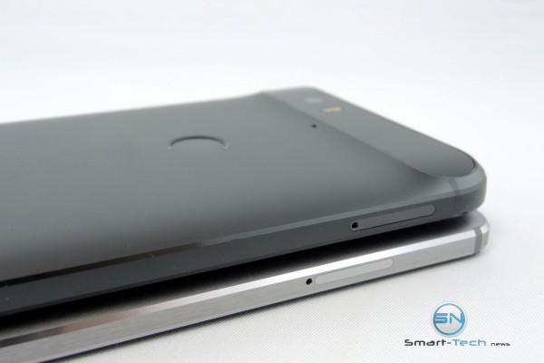 Rechte Seite HUA Mate 8 vs Nexus 6P - SmartTechNews