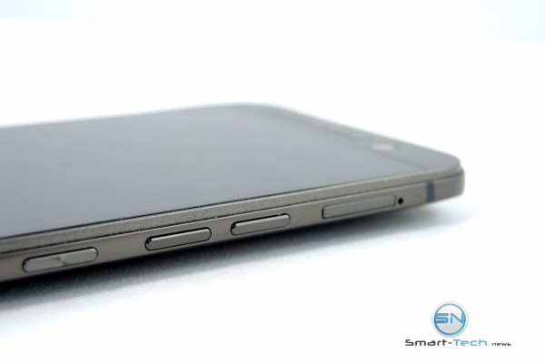 Tasten seitlich - HTC One M9 plus - SmartTechNews