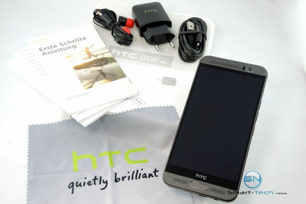 Unboxing - HTC One M9 plus - SmartTechNews