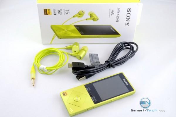 Unboxing - Sony Walkman NW-A25HN - SmartTechNews