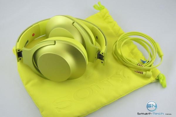 faltbarer Sony Kopfhörer MDR-100AAP - SmartTechNews