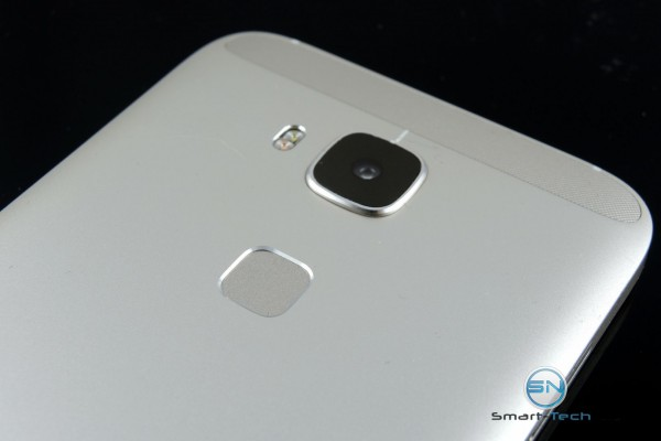 Fingerscan und Kamera Blitz - Huawei GX8 - SmartTechNews