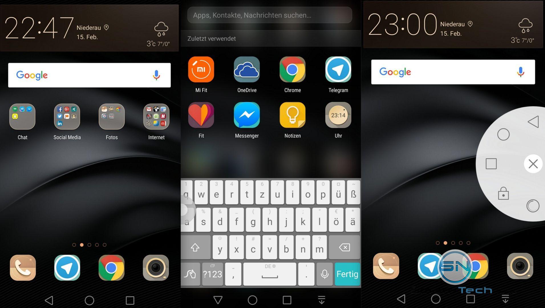 Homescreen und Apps - Huawei GX8 - SmartTechNews