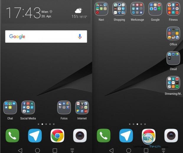 Homescreen Huawei P9 - SmartTechNews