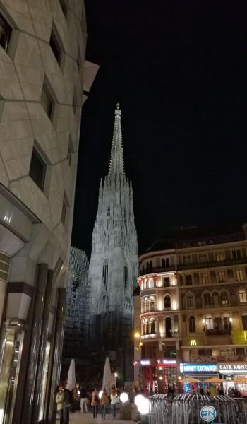 Wien Stephansdom Nachtmodus - Huawei P9 - SmartTechNews