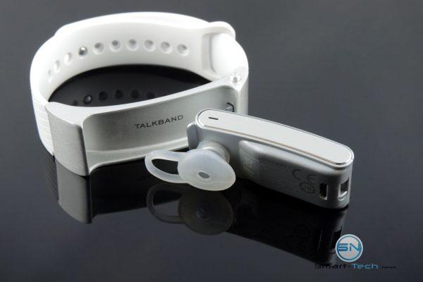 Bluetooth Headset - Huawei Talkband - SmartTechNews