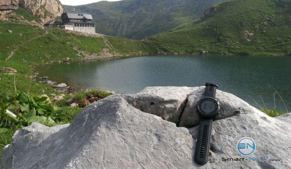 Bergsee und Hütte - Gramin fenix 3 HR - SmartTechNews