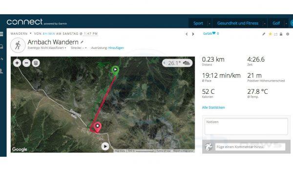 GPS fail - Wandern - Garmin Fenix 3 HR Saphir - SmartTechNews