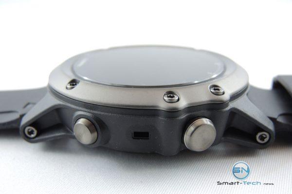 Navigations Button rechts - Garmin fenix 3 HR Saphir - SmartTechNews