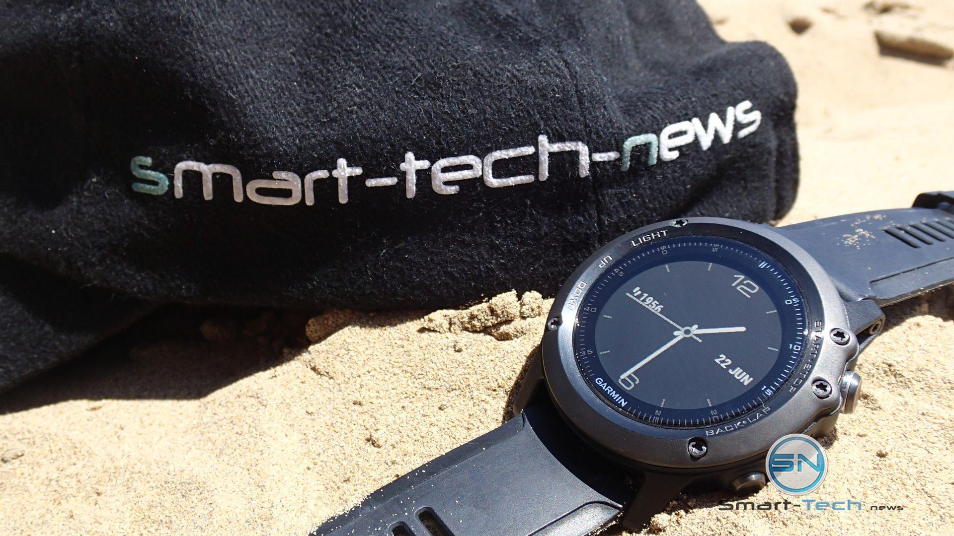 Sonne Strand Meer - Gramin fenix 3 HR - SmartTechNews