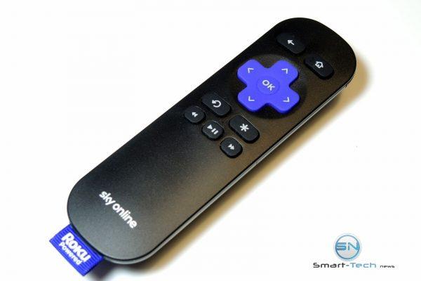 Fernbedienung - Sky Ticket - Onliine Box - SmartTechNews