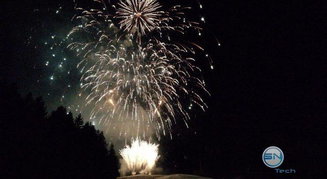 Feuerwerk Freihand - Huawei Mate 9 - SmartTechNews