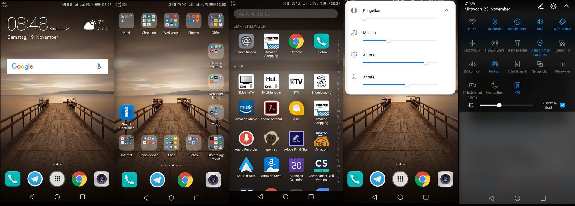 Homescreen - Huawei Mate 9 - SmartTechNews
