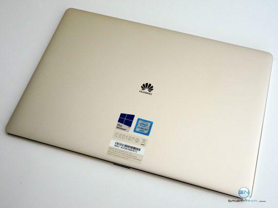 Huawei MateBook - SmartTechNews - MateBook Rückseite